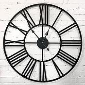 """Часы классические ручной работы. Ярмарка Мастеров - ручная работа Большие настенные часы 1 метр """"Rooma S"""". Handmade."""