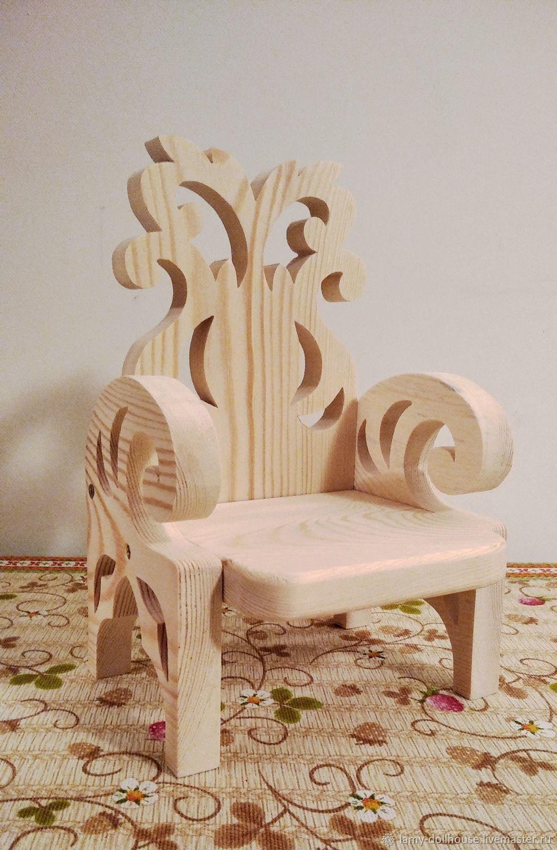 Chair big 'Rigil', Doll furniture, Moscow,  Фото №1