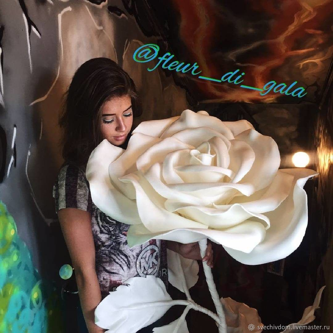 Роза, Цветочный декор, Москва,  Фото №1