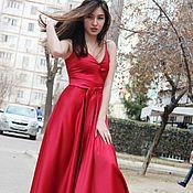 Одежда handmade. Livemaster - original item Chic floor-length dress