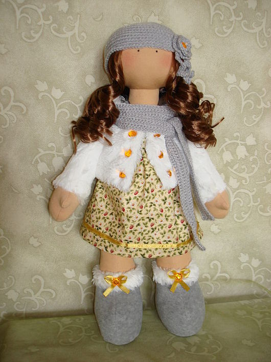 Куклы Тильды ручной работы. Ярмарка Мастеров - ручная работа. Купить Текстильная кукла Танюша(КУПЛЕНА). Handmade. Текстильная кукла
