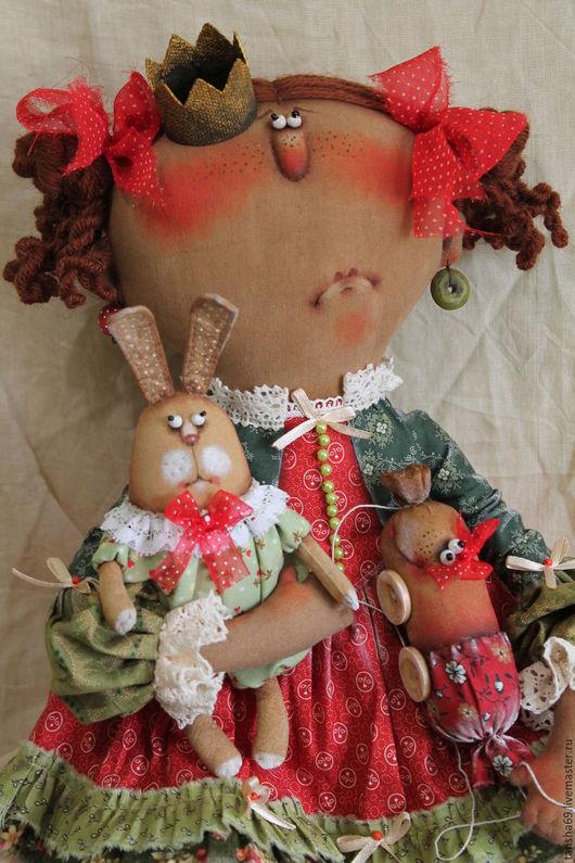 Коллекционные куклы ручной работы. Ярмарка Мастеров - ручная работа. Купить Печалька.... Handmade. Комбинированный, интерьерная кукла, синтепух