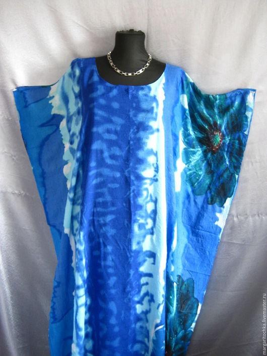 Пляжные платья ручной работы. Ярмарка Мастеров - ручная работа. Купить Очень яркое пляжное платье. Handmade. Туника красная