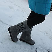 Обувь ручной работы. Ярмарка Мастеров - ручная работа Валенки. Handmade.