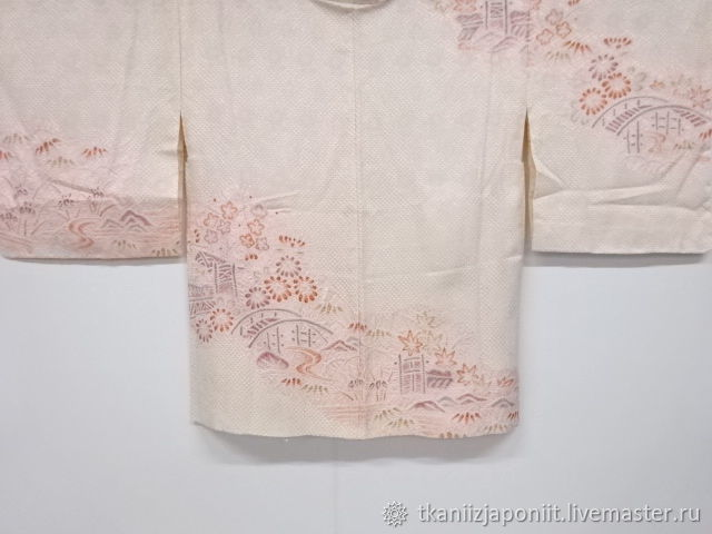 Haori Japanese silk real shibori ' Bridges', Vintage clothing, Chelyabinsk,  Фото №1