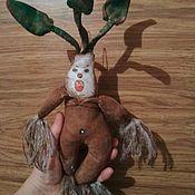 Чердачная кукла ручной работы. Ярмарка Мастеров - ручная работа Чердачная кофеюшка. Handmade.