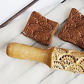 Для дома и интерьера ручной работы. Ярмарка Мастеров - ручная работа Скалка для печатного печенья и пряников в подарок женщине. Handmade.