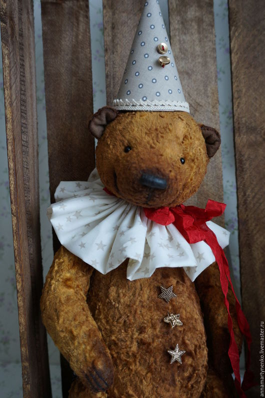 Мишки Тедди ручной работы. Ярмарка Мастеров - ручная работа. Купить Коллекционный плюшевый медведь. Handmade. Коричневый, винтажный плюш