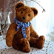 Куклы и игрушки handmade. Livemaster - original item Teddy Bears: Soviet bear with a howler (according to the pattern of 1950-70). Handmade.