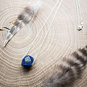 Украшения handmade. Livemaster - original item Pendant with lapis lazuli. Handmade.
