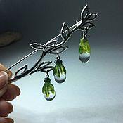 Украшения handmade. Livemaster - original item Dew drops Lampwork Glass. Handmade.