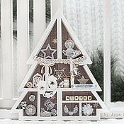 Подарки к праздникам ручной работы. Ярмарка Мастеров - ручная работа Shadow-box. Handmade.