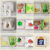 Куклы и игрушки ручной работы. Ярмарка Мастеров - ручная работа Книжка  для малышек. Handmade.