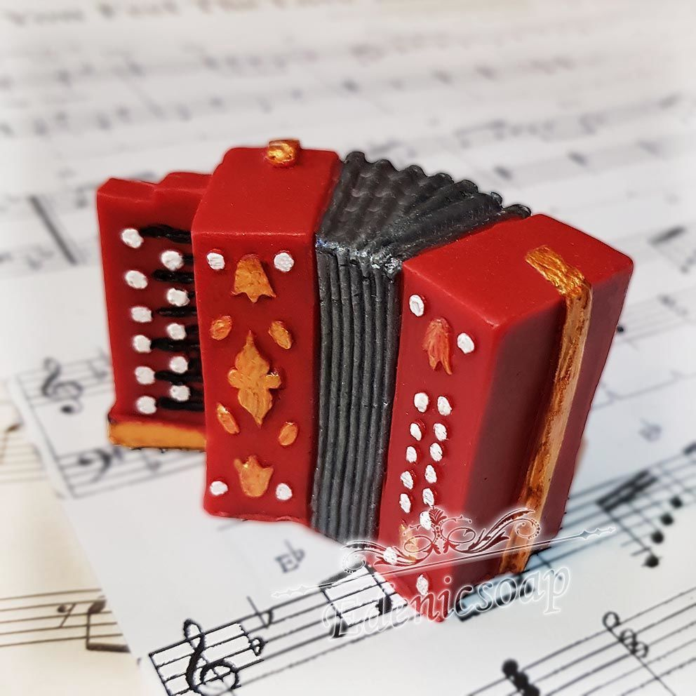 'Bayan ' soap souvenir gift musical instrument, Soap, Moscow,  Фото №1