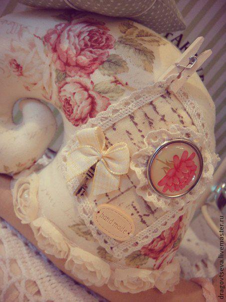 Куклы Тильды ручной работы. Ярмарка Мастеров - ручная работа. Купить Улитка Тильда. В стиле Шебби  3. Handmade.