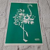 Материалы для творчества handmade. Livemaster - original item 6273 adhesive-based Stencil reusable. Handmade.