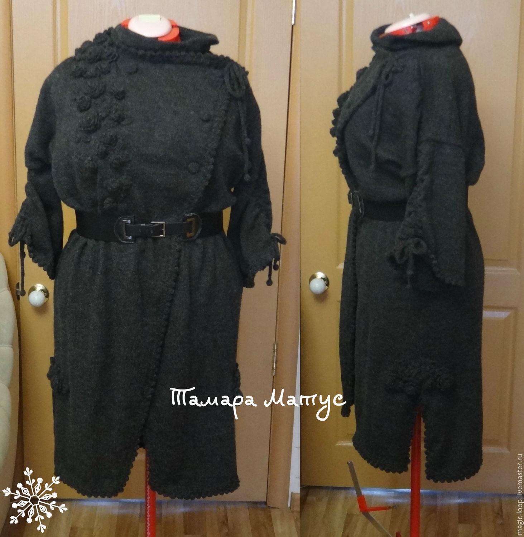 Пальто в стиле бохо светланы волкодав схема