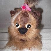 """Куклы и игрушки ручной работы. Ярмарка Мастеров - ручная работа собачка """"Кроха"""". Handmade."""