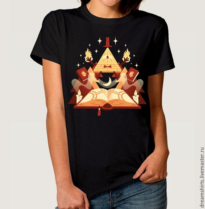 "Футболка с принтом ""Gravity Falls - Bill"", T-shirts, Moscow,  Фото №1"