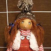Куклы и игрушки ручной работы. Ярмарка Мастеров - ручная работа Кукла Женька-непоседа :)). Handmade.