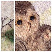 """Сумки и аксессуары ручной работы. Ярмарка Мастеров - ручная работа авторская сумка """"Мамино счастье"""" сумка с совой на каждый день. Handmade."""