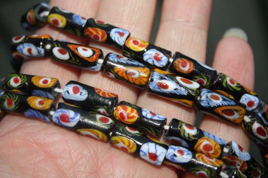 Для украшений ручной работы. Ярмарка Мастеров - ручная работа. Купить Стеклянные бусины из Индонезии. Handmade. Стекло, бусины из индонезии