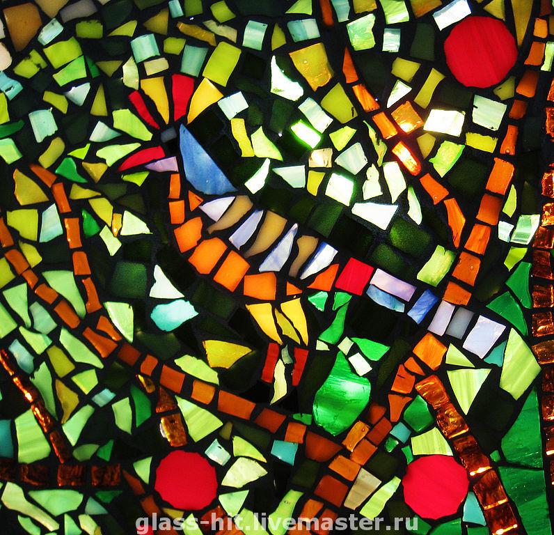 мозаика из стекла фото