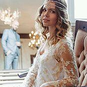 Одежда handmade. Livemaster - original item Lace wedding dress. Handmade.