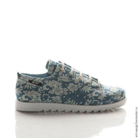 Обувь ручной работы. Ярмарка Мастеров - ручная работа. Купить Кеды 12-320 (СБ). Handmade. Мода, кеды