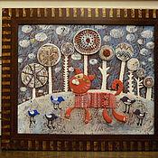 Для дома и интерьера ручной работы. Ярмарка Мастеров - ручная работа прогулка в зимнем лесу. Handmade.