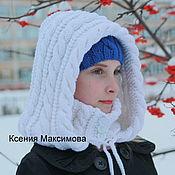 Аксессуары handmade. Livemaster - original item hood Magdalena ed. job bonnet. Handmade.