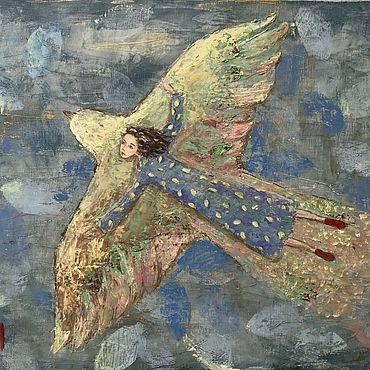 Картины и панно ручной работы. Ярмарка Мастеров - ручная работа Из детства.... Handmade.