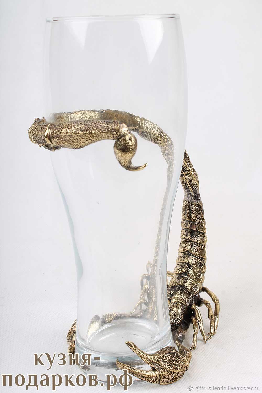 Beer glass 'Scorpion», Wine Glasses, Vacha,  Фото №1