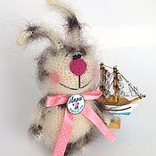 Куклы и игрушки ручной работы. Ярмарка Мастеров - ручная работа Заяц Пятнышко. Handmade.