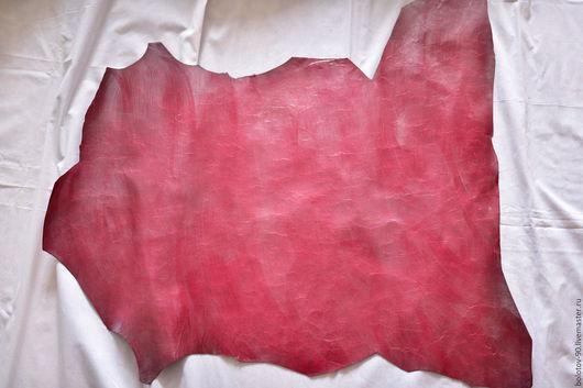 """Шитье ручной работы. Ярмарка Мастеров - ручная работа. Купить Натуральная кожа.Италия.Цвет тёмно-красный """"художественный"""".. Handmade."""