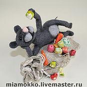 Куклы и игрушки ручной работы. Ярмарка Мастеров - ручная работа Что не съем-то понадкусываю.... Handmade.