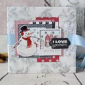 Подарки к праздникам ручной работы. Ярмарка Мастеров - ручная работа Альбом для фотографий. Handmade.