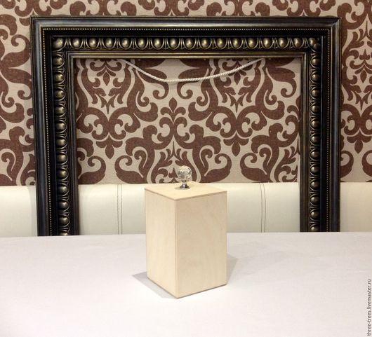 Декупаж и роспись ручной работы. Ярмарка Мастеров - ручная работа. Купить Заготовка Коробочка для хранения #2. Handmade. Бежевый