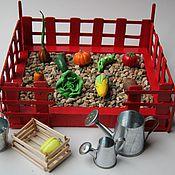 Куклы и игрушки ручной работы. Ярмарка Мастеров - ручная работа Сенсорный огород малый. Handmade.