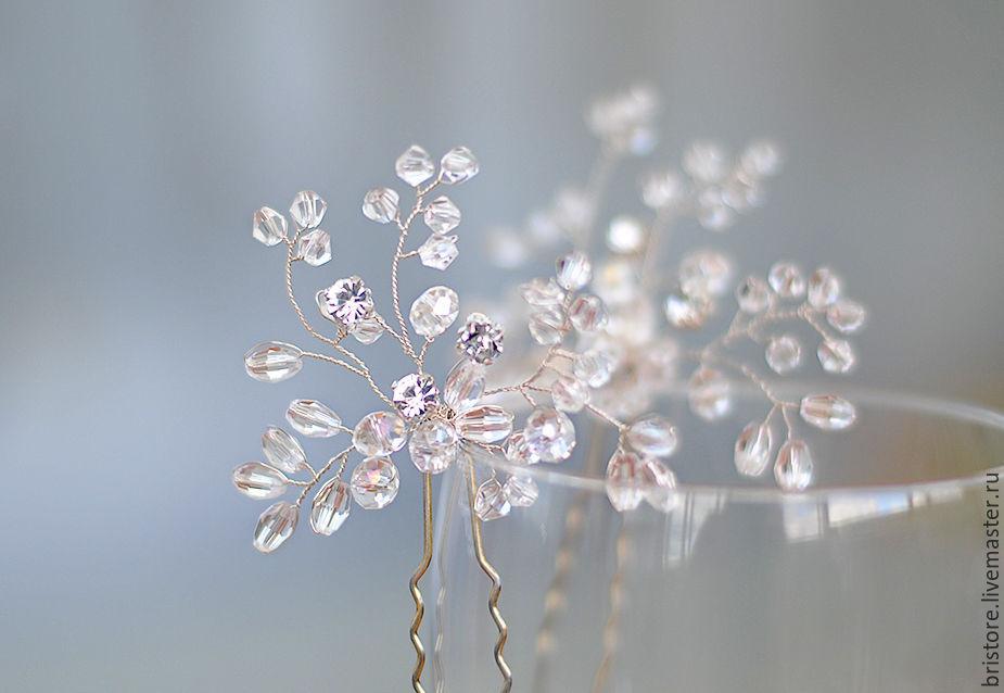 Свадебные украшения из бусин своими руками