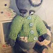 Куклы и игрушки ручной работы. Ярмарка Мастеров - ручная работа Луиджи. мишка тедди. Handmade.