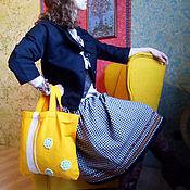 Одежда ручной работы. Ярмарка Мастеров - ручная работа Теплая юбочка в стиле бохо. Handmade.
