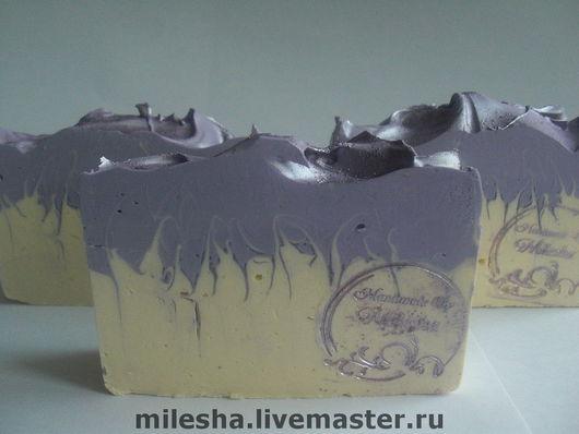 """Мыло ручной работы. Ярмарка Мастеров - ручная работа. Купить Мыло с нуля """"Шелковая лаванда"""". Handmade. Мыло ручной работы"""