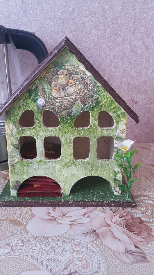 """Кухня ручной работы. Ярмарка Мастеров - ручная работа. Купить Чайный домик """"Птички""""!. Handmade. Чайный домик, интерьерные штучки"""