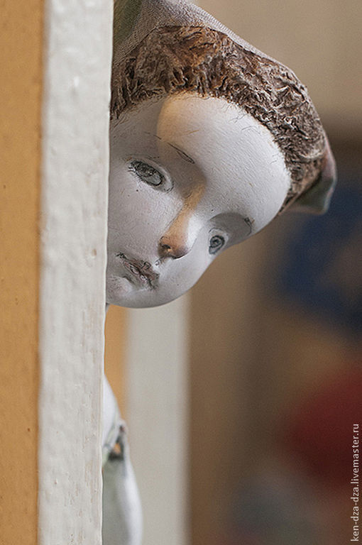 Коллекционные куклы ручной работы. Ярмарка Мастеров - ручная работа. Купить Майя. Handmade. Кукла ручной работы, пастельные тона