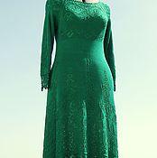 """Одежда ручной работы. Ярмарка Мастеров - ручная работа """"Изумрудные сны"""" шелковое платье. Handmade."""