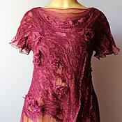 Одежда ручной работы. Ярмарка Мастеров - ручная работа Авторская блузка Бохиня. Handmade.