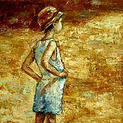 Картины и панно handmade. Livemaster - original item Oil painting Future captain. Handmade.