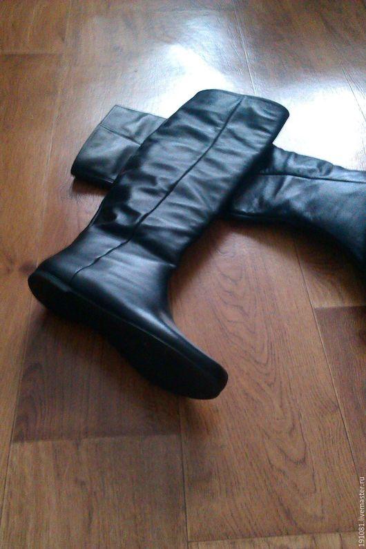 Обувь ручной работы. Ярмарка Мастеров - ручная работа. Купить Сапоги демисезонные(54). Handmade. Комбинированный, натуральная кожа питона
