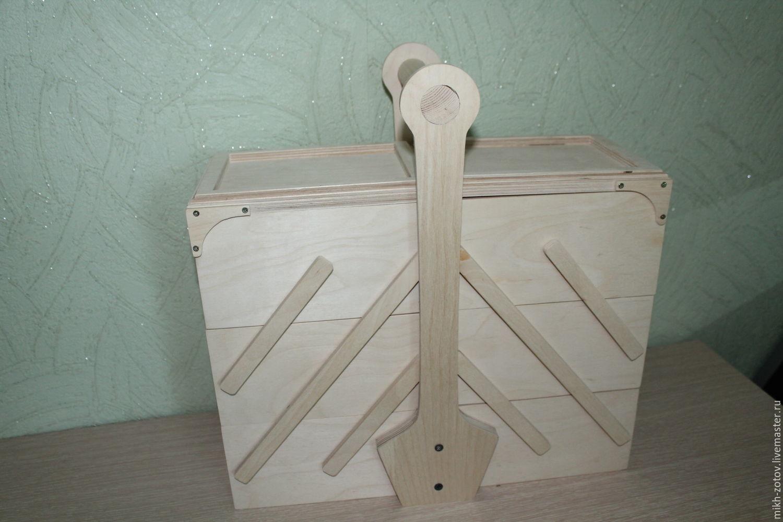 Органайзер раскладной на 3 яруса (заготовка), Органайзеры, Пенза,  Фото №1